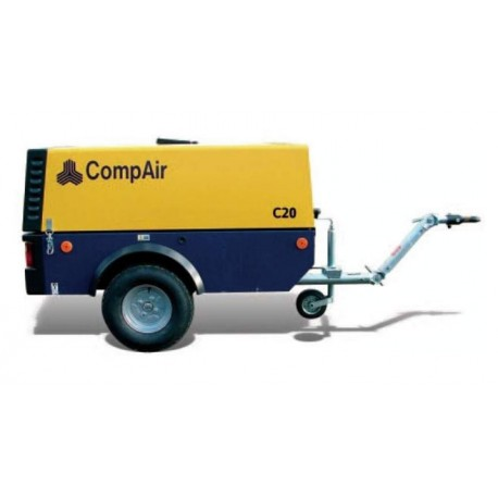 Compresseur diesel 1,8 m³